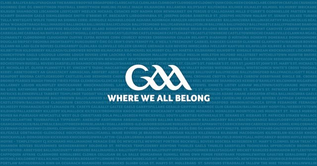 GAA - Where We All Belong